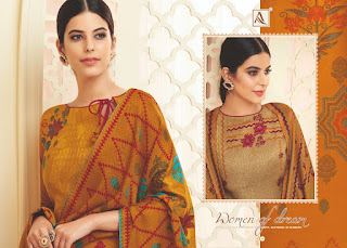 Alok Suits Pankhuri Pashmina Collection