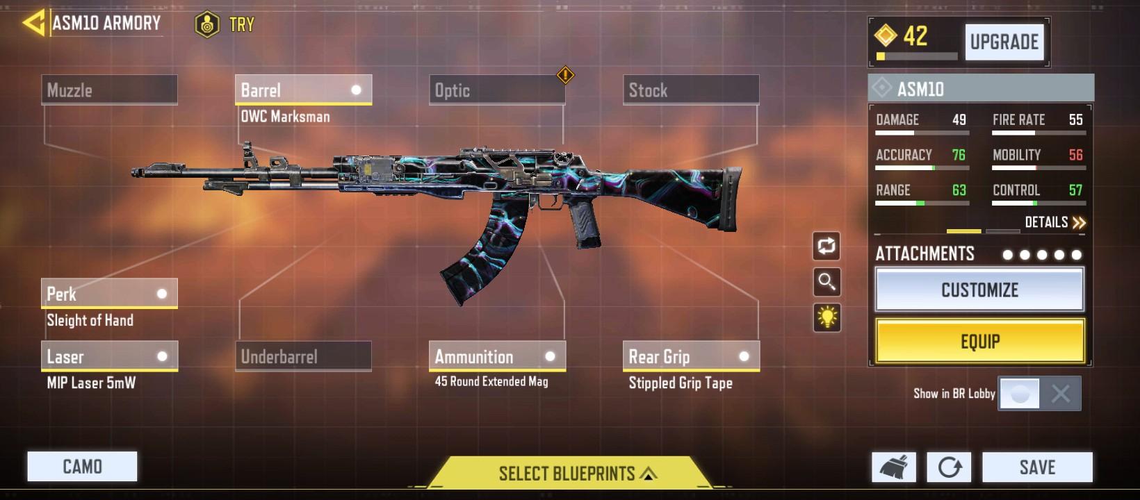 Best Assault Rifles of COD Mobile