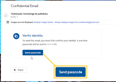 open confideential email