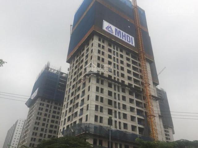 Dự án đang trong quá trình hoàn tất xây dựng