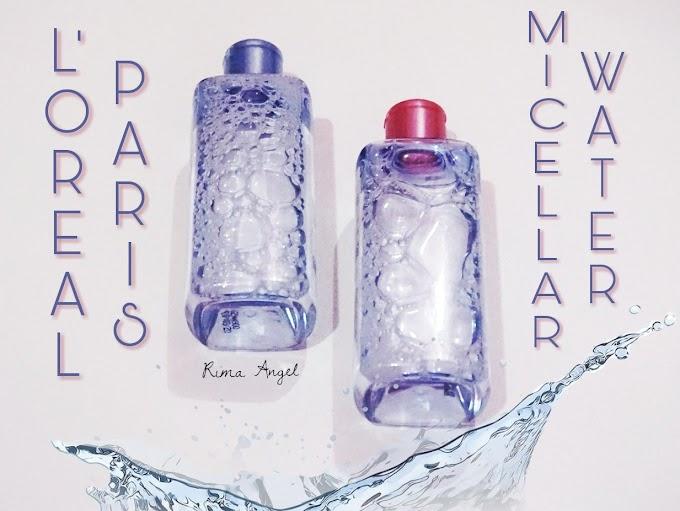 Perbedaan & Persamaan L'oreal Paris Micellar Water Pink dan Biru
