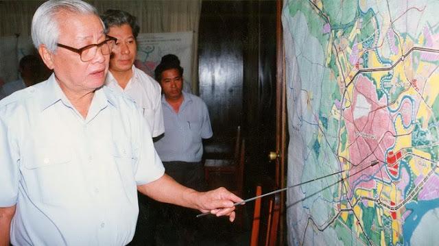 Nguyên cố Thủ tướng Võ Văn Kiệt với quy hoạch ban đầu Khu ĐTM Thủ Thiêm