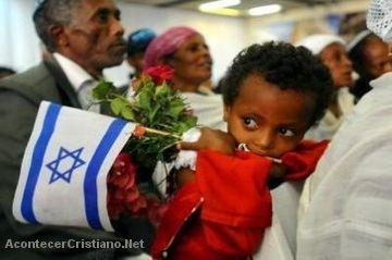 """Judios de la """"tribu perdida"""" retornan a Israel"""