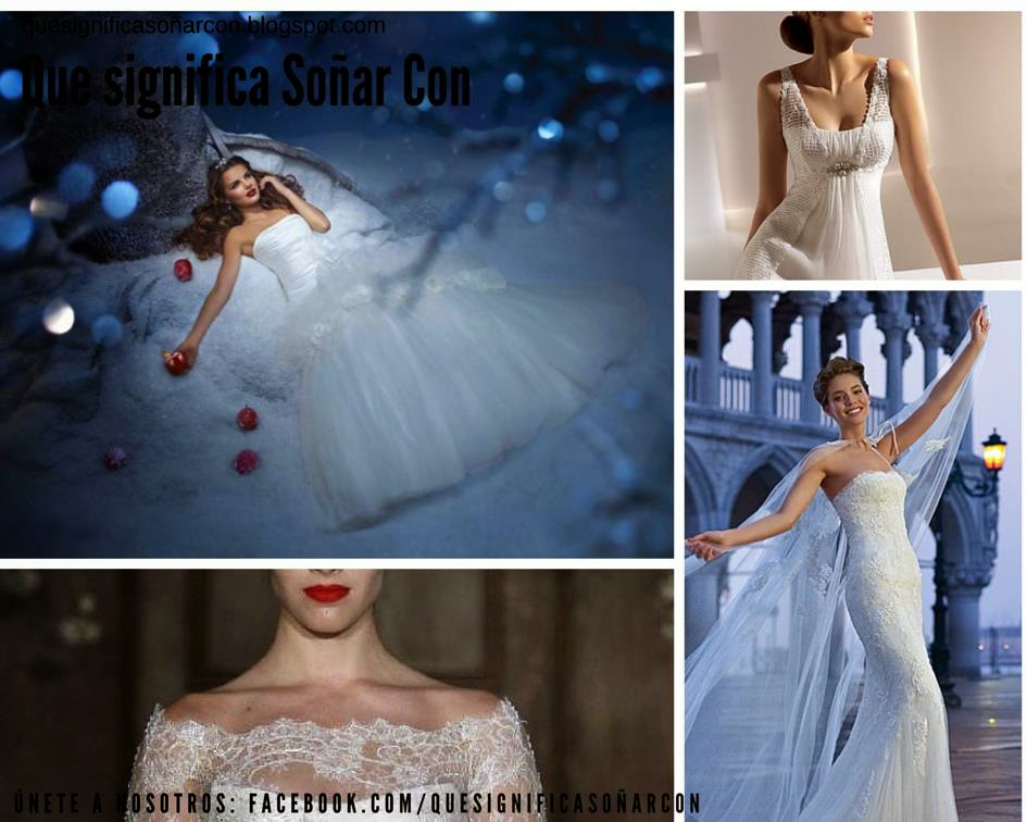 QUE SIGNIFICA SOÑAR CON VESTIDO DE NOVIA - Meaning of dreams - Wedding dress 559696928367
