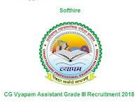 CG Vyapam Assistant Grade III Recruitment