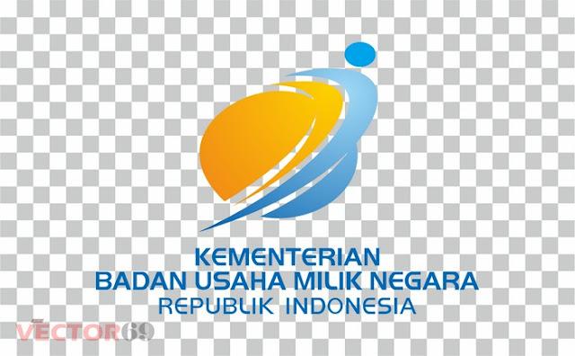 Logo Kementerian BUMN (Badan Usaha Milik Negara) Indonesia - Download Vector File PNG (Portable Network Graphics)