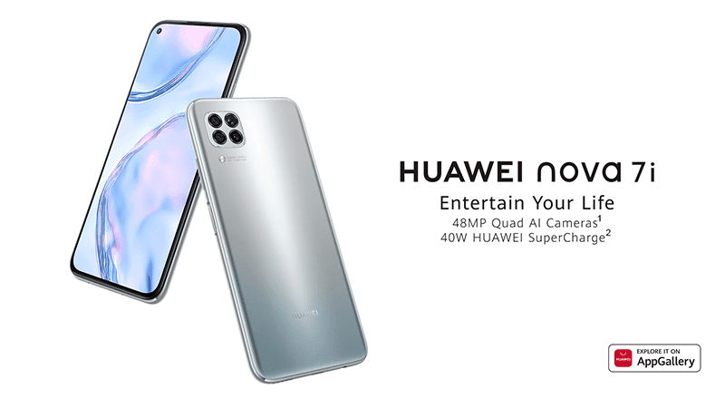 Huawei nova 7i Skyline Gray arrives in the Philippines for PHP 13,990