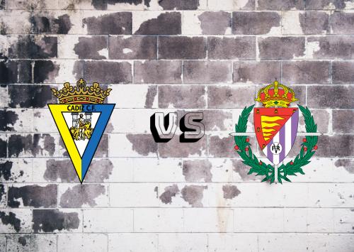 Cádiz vs Real Valladolid  Resumen