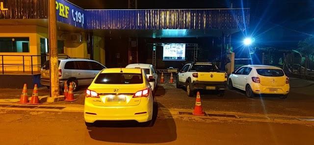SNT: PRF atua na conscientização de condutores com Cinema Rodoviário Drive-In em Dourados (MS)