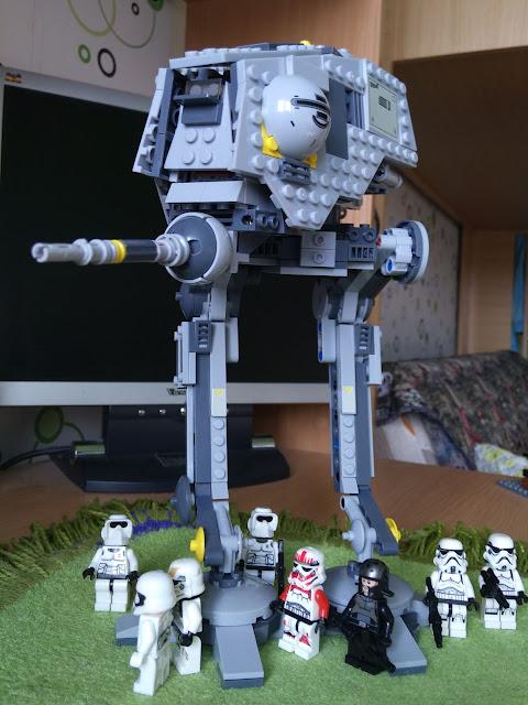 Lego AT-DP review, Star Wars