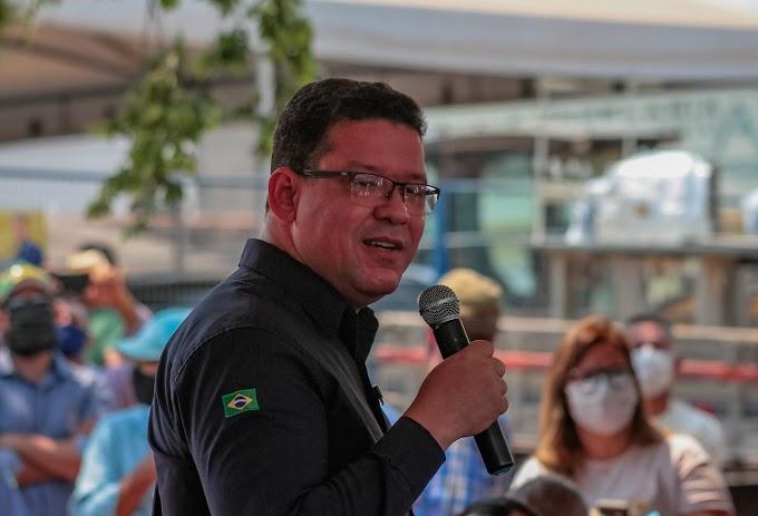 Marcos Rocha anuncia fase final de asfaltamento de 40 ruas em Cacoal