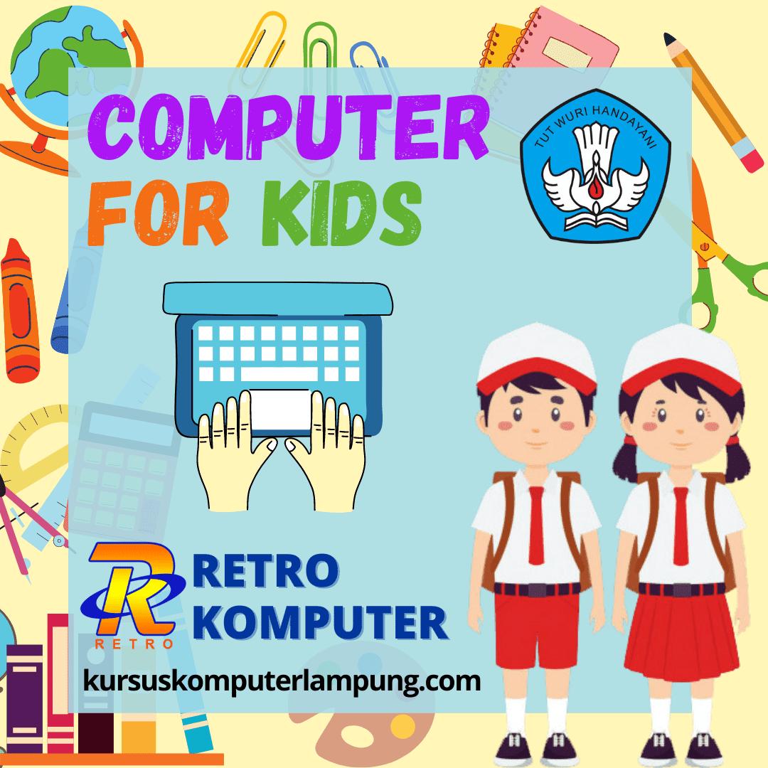 Privat Komputer untuk Anak
