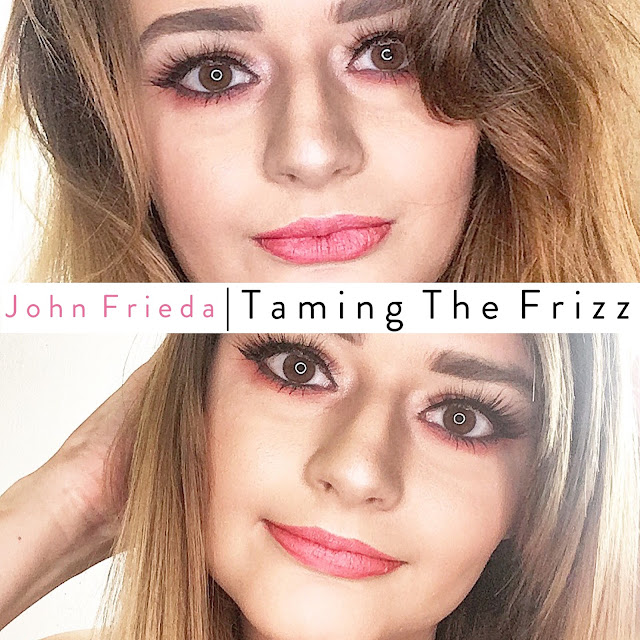 12 Days Of Frizz Ease Challenge, With John Frieda - Lovelaughslipstick Blog Review of John Frieda Frizz Ease Nourishing Oil Elixir
