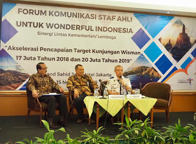 Forum Komunikasi Staf Ahli Sinergi Strategj Majukan Pariwisata
