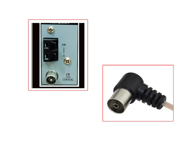 Dlenp Dipole Antenna Indoor Copper Aerial HD Radio T shape Male/ Female PAL Connector 75 OFM use for YAMAHA AM/FM