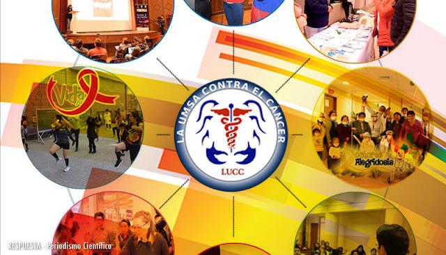 la UMSA contra el cáncer (LUCC), programa universitario de interacción social