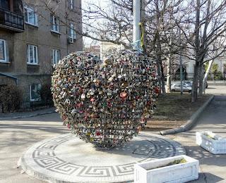 Одесса. Сердце для молодожёнов