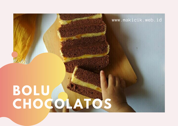 [Resep] Jackfruit Chocolatos Steamed Cake
