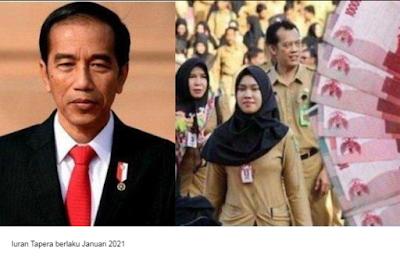 Sudah Disetujui Jokowi, Gaji PNS TNI dan Polri Bakal Dipotong 2,5 Persen Mulai Januari 2021