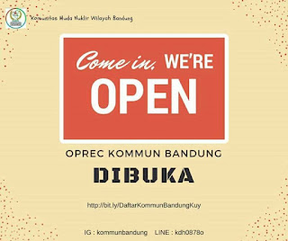 Open Recruitment KOMMUN Bandung 2017