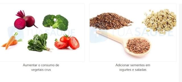 Dieta para melhorar o funcionamento do intestino e acabar com a prisão de ventre