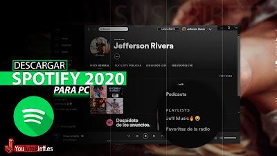 como descargar spotify 2020