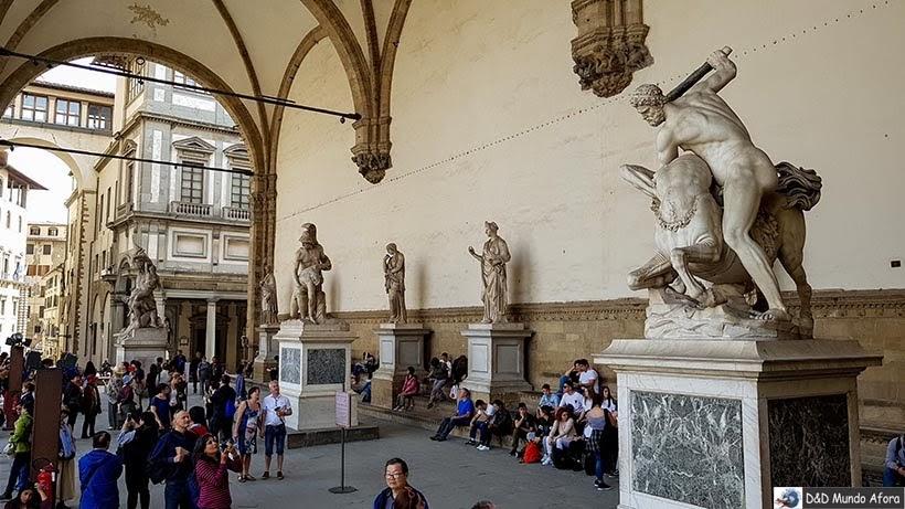 Loggia dei Lanzi - O que fazer em Florença, Itália