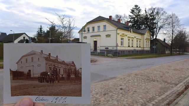 Wie sah es früher in Bralitz aus Ziegelei Dorf Insel Neuenhagen