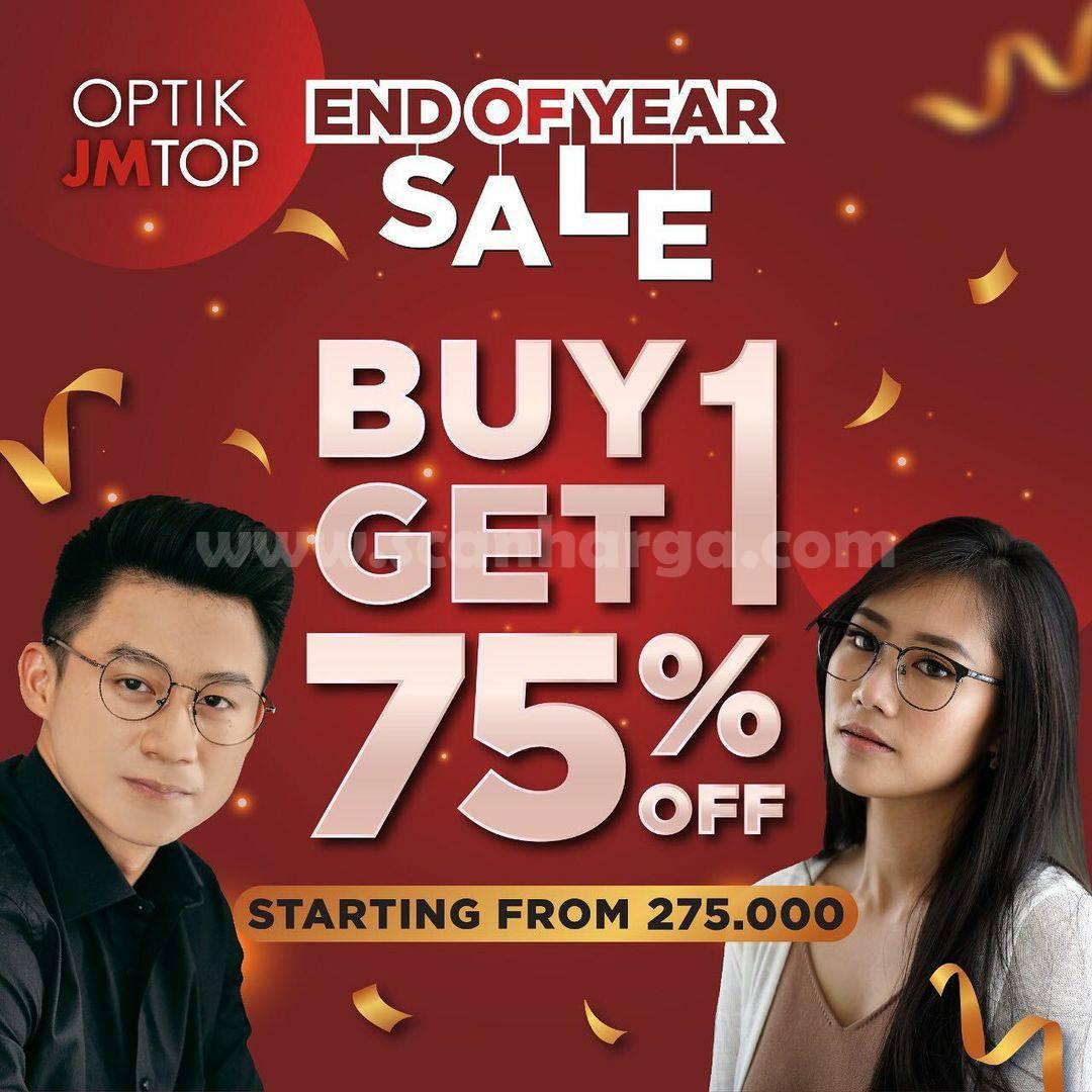Promo OPTIK JM TOP Spesial Buy 1 Get 1 Diskon 75% Off For Frame & Sunglasses