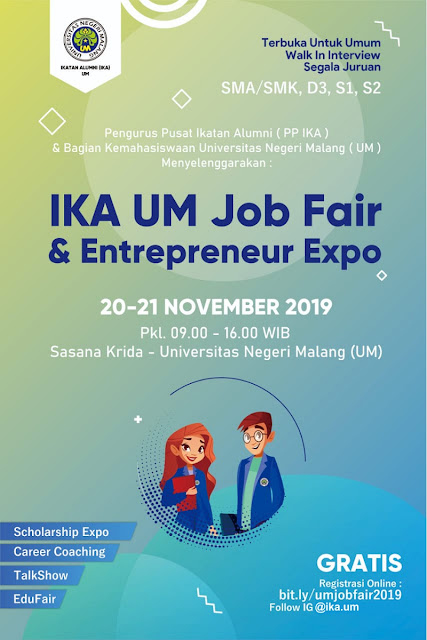 Job Fair Universitas Negeri Malang
