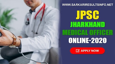 JPSC: The Jharkhand Public Service Commission has recently invited the online application form for the MO Medical Officer Recruitment.