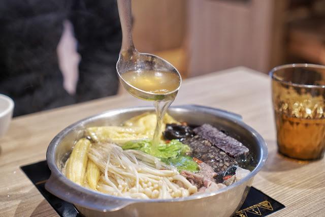 台南北區美食【富士匠鍋物】餐點介紹-疏食養生鍋 (可全素)