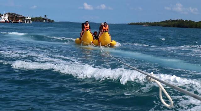 Banan Boat di Pulau Ranoh Barelang Batam