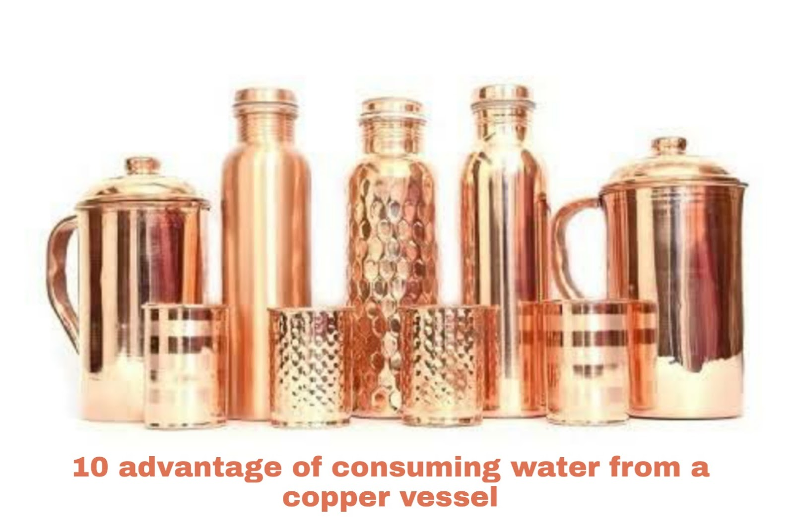 benifits of copper bottel Why is it good for you?