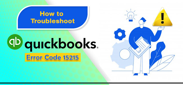 How to resolve QuickBooks error 15215