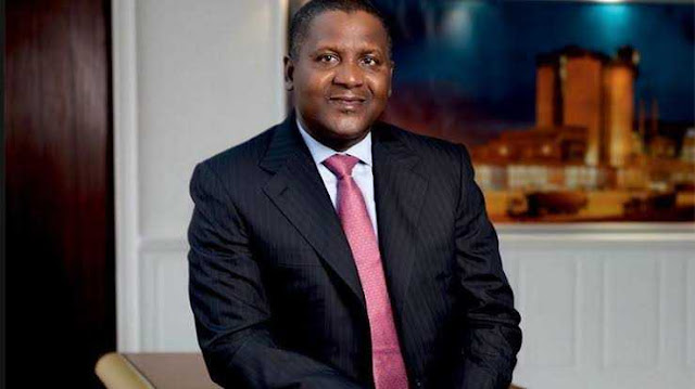 Aliko Dangote is the richest man in Nigeria and Africa