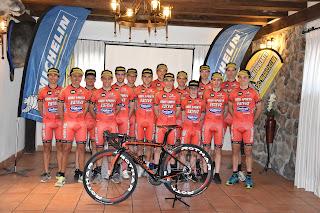 Plantilla Esteve Chozas Team 2019