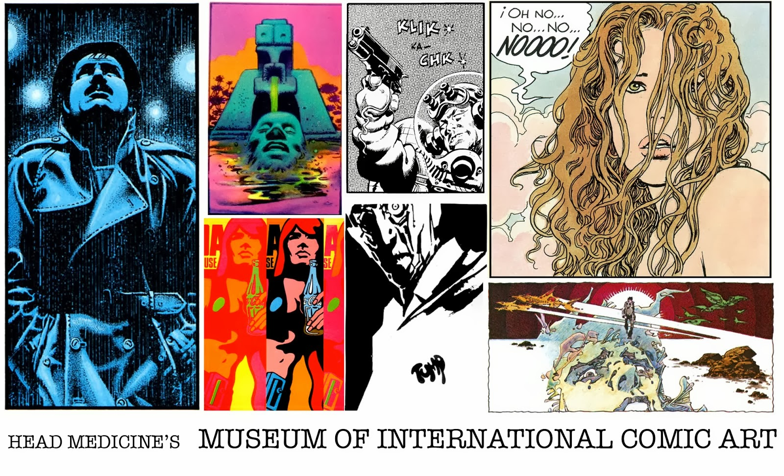 Head Medicine's Museum of International Comic Art