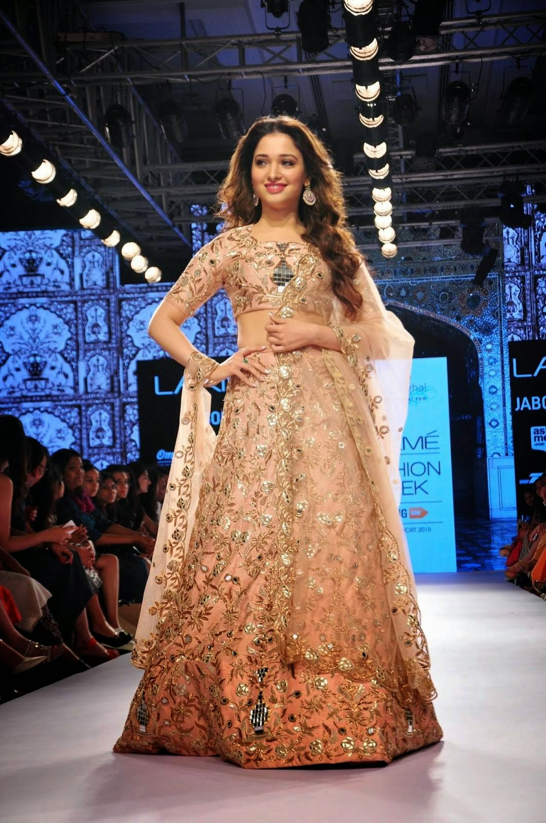 Tamannaah Stills at Lakme Fashion Week 2015 Summer Resort Photos
