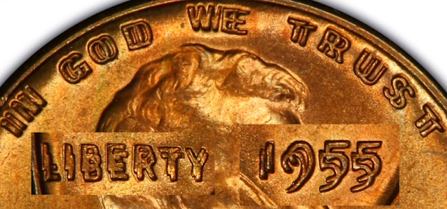 1955 double die penny value