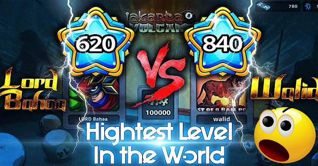 I played VS the owner of highest level in the World Walid Damoni New video on Bahaa Alajlani Featuring 8 ball pool hits with Walid Damoni