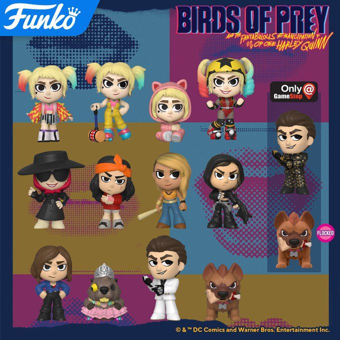 The Blot Says Harley Quinn Birds Of Prey Mystery Minis Blind Box Series By Funko