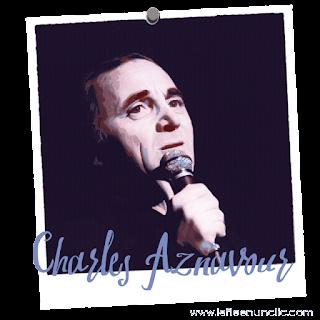 Charles Aznavour, hommage à Charles Aznavour, chanson française, FLE, le FLE en un 'clic', emmenez-moi, la bohème