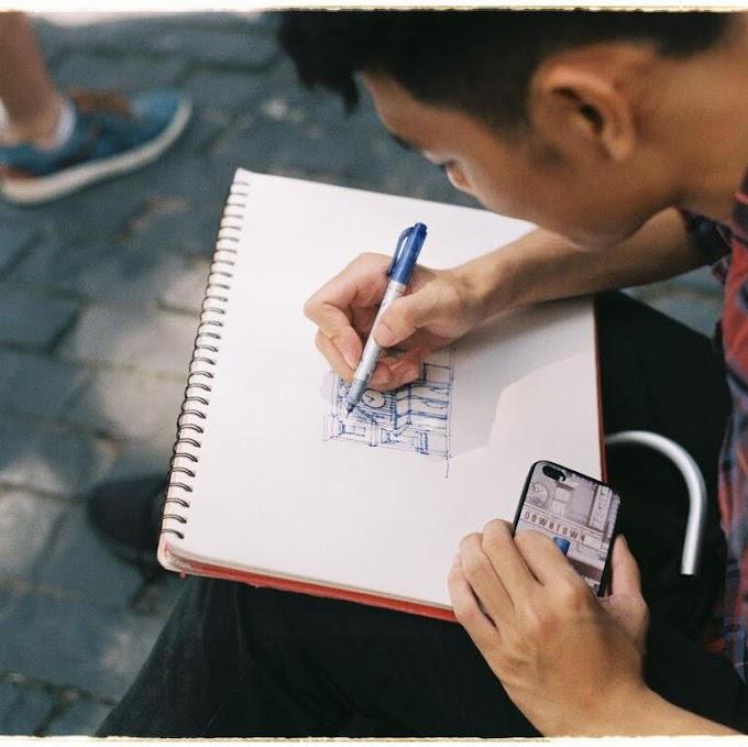 Những bức ký họa của chàng Sinh viên Kiến Trúc