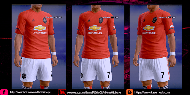 PES 2013 Manchester United 19-20 Home Kit Leaked