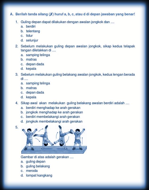Download Kumpulan Soal UTS Genap PENJASKES / PJOK Kelas 5 ...