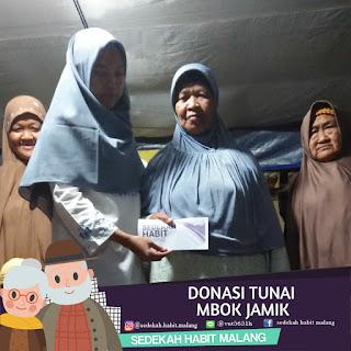 Mbok Jamik : Donasi Tunai