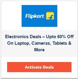 Flipkart electronic deals coupon code