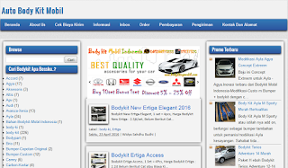 Supplier Bodykit Mobil Plastik