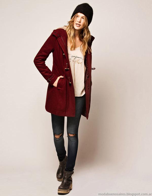 Moda otoño invierno 2015 Cuesta Blanca ropa de mujer.